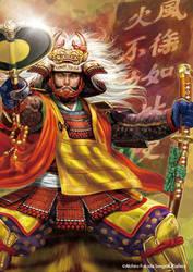 Takeda Shingen by nabenosuke