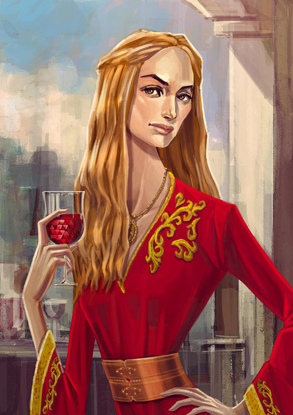 Cersei Lannister Lena Headey by nabenosuke