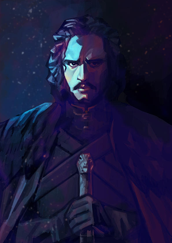 Jon Snow Kit Harington by nabenosuke