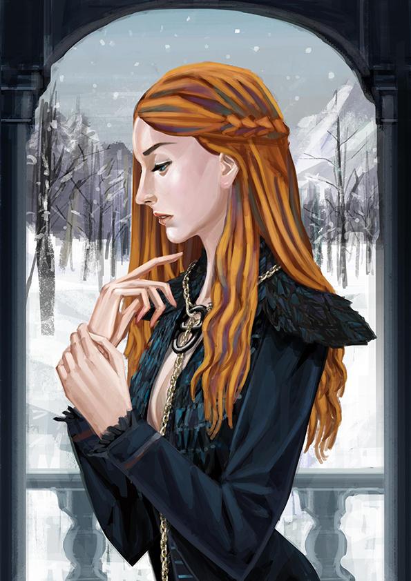 Sansa Stark Sophie Turner by nabenosuke