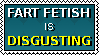 Fart fetish stamp by HappyPenguin819