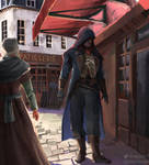 arno assassins creed unity by Stephen221B