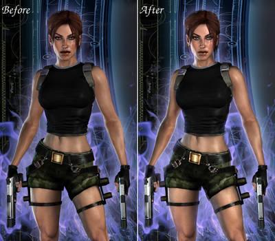 HD Realistic AOD by ViCt0RXD, side-by-side edit by JAMsEye