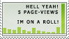 Pageview Stamp by all-one-line