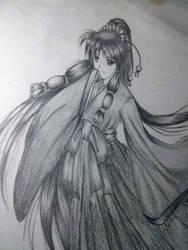 Kimono girl by Fabalas-Neko3o