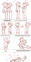 Comic Strip - Knives and Vash by hierophant