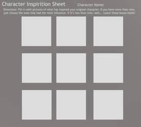 Character Inspiration Sheet by jlucydaisuke