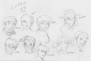 Lupin Gang 2014 by jlucydaisuke