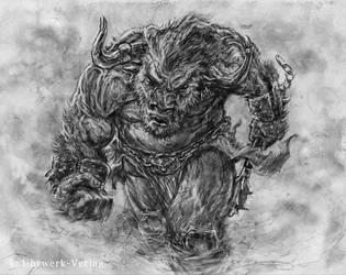 The-last-tyrant Minotaurus-finlow by Tom3k-S