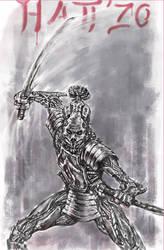 Steel-samurai-Hatt'Zo by-Tomek-S by Tom3k-S