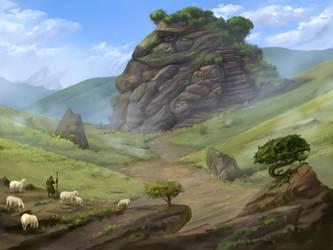 Stone Giant by Dimikka