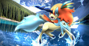 Keldeo Resolute Forme by neo-cscdgnpry
