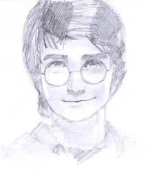Harry from Harry Potter by yybear2826