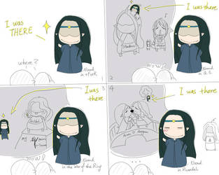 Elrond: i was there by eilian
