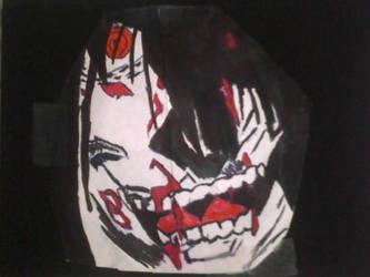 Scary Face by XxDimondDustxX