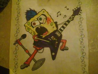 Goth Sponge by XxDimondDustxX