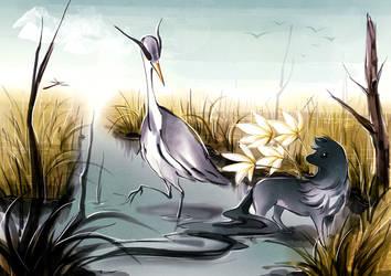 Marshlands by cepphiro