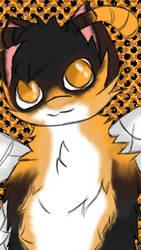 Honeybee Furry background #2 by Awesomspiritcat21