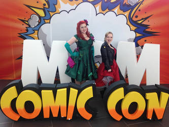 Rockabilly Harley Quinn and Pin Up Poison Ivy by TheCuckooEmporium