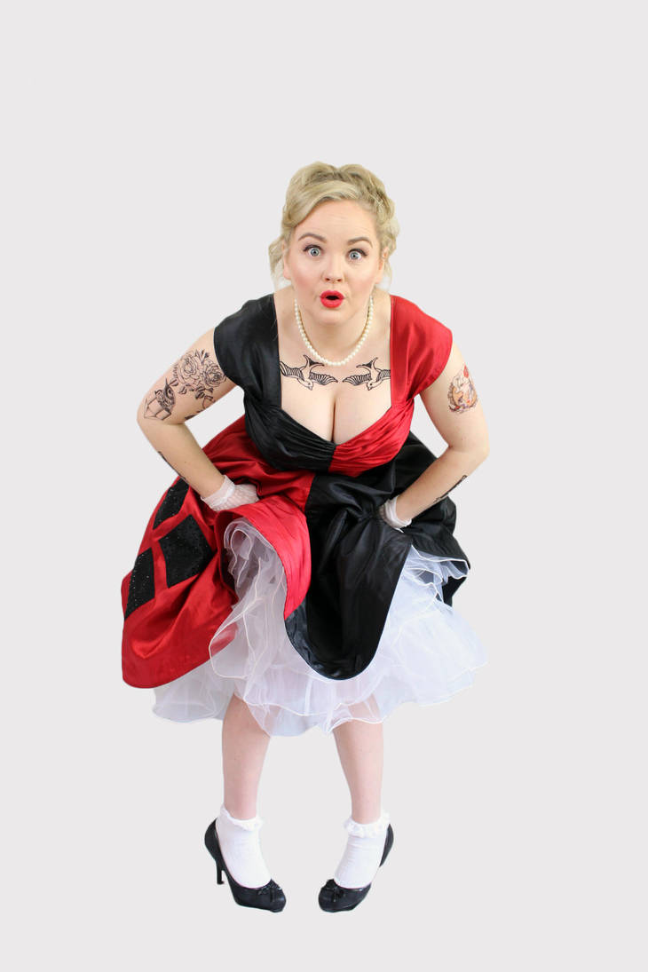 Rockabilly Harley Quinn by TheCuckooEmporium