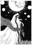 Day 25 - Priestess Of The Moon. by Raven-HD-Maverick