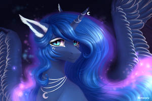 Princess Luna by Fenwaru