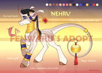 NEHRU - ADOPT AUCTION [OPEN] by Fenwaru