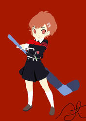 Persona Q Minako Arisato by swordsman9
