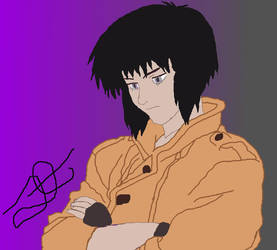 Motoko The Major Kusanagi GITS 1995 by swordsman9