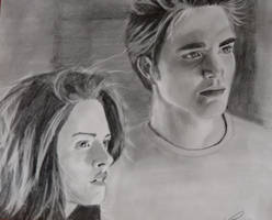 Bella and Edward by lcollins17