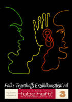 Storytelling Festival Postcard by living2prove