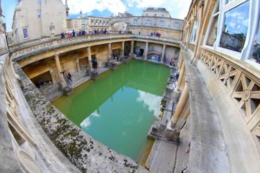 Roman Baths by NickysChannel13