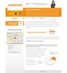 Company Layout Orange by theidentity