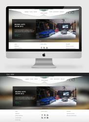 Aston Martin Website (Fanmade) by theidentity