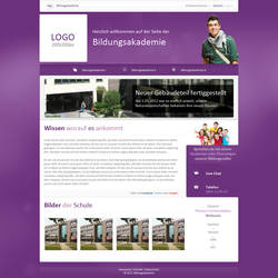 Academic Site by theidentity