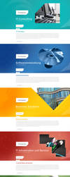 Webdesign Landing Page by theidentity