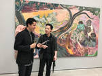 Michael Andrew Law meets with Michael Armitage 1 by michaelandrewlaw