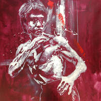 From Bruce Lee with Love in RED by michaelandrewlaw