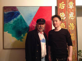 Artist Ray Yip Ming and Michael Andrew Law by michaelandrewlaw