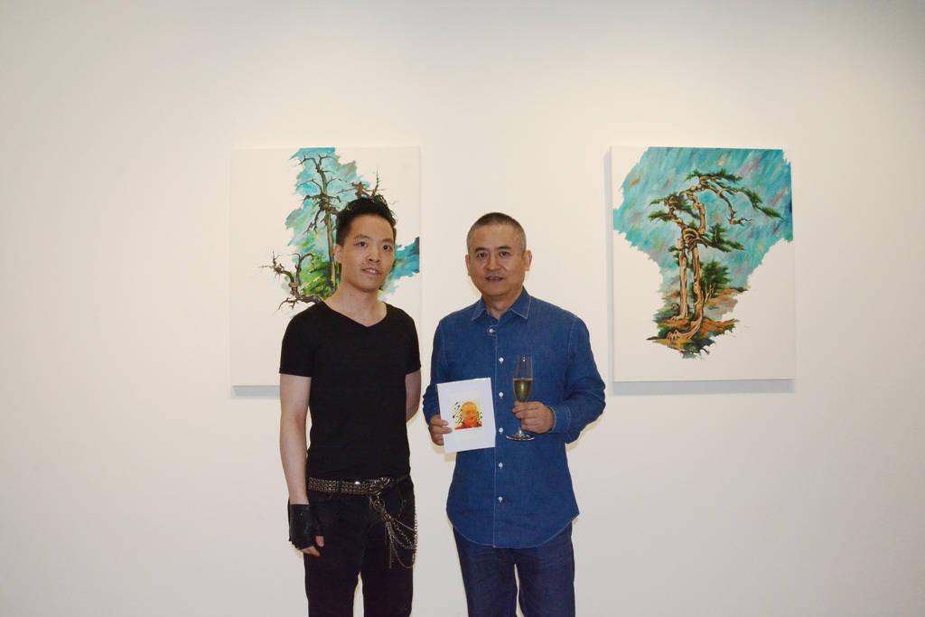 Michael Andrew Law Cheuk Yui and Zeng Fanzhi art by michaelandrewlaw