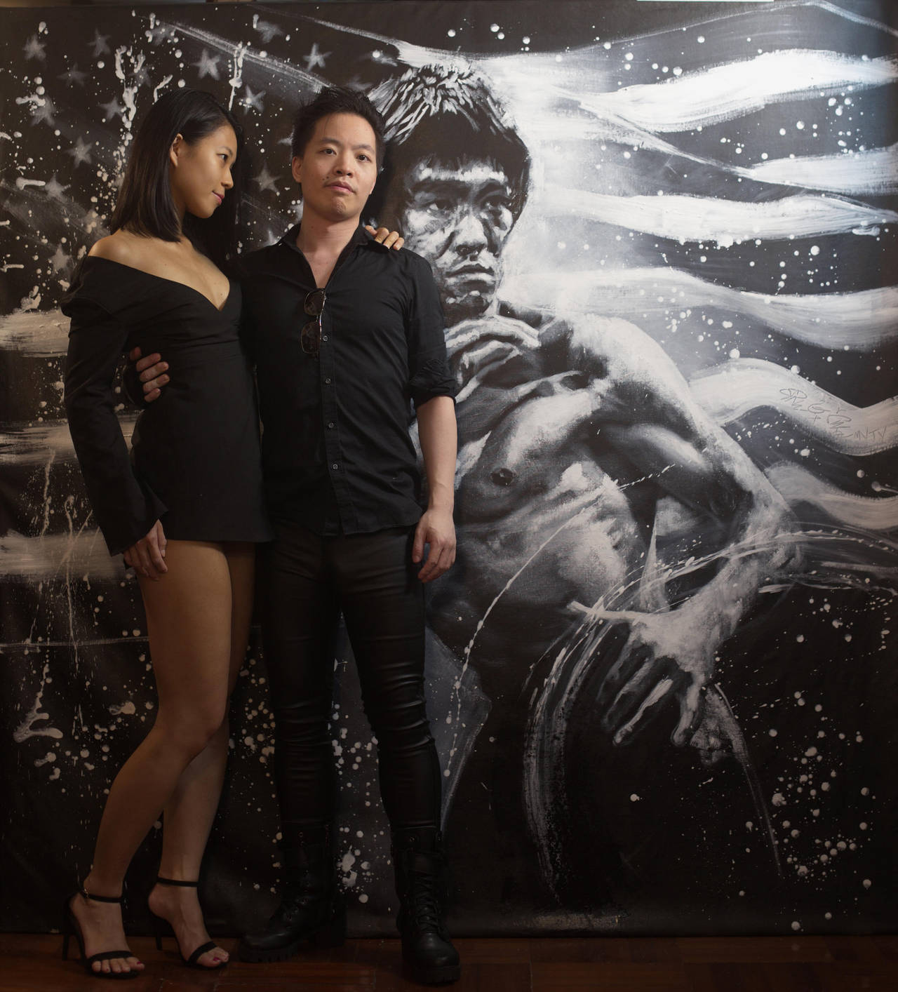 Michael Andrew Law Cheuk Yui with Michelle by michaelandrewlaw