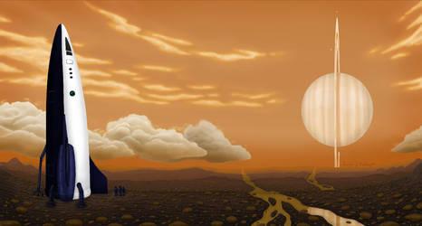 Titan Farewell by Lucasgrodrigues