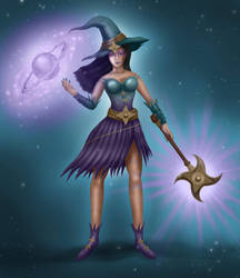 Cosmic Witch by Lucasgrodrigues