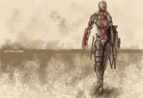 Female Soldier - future by andraspop