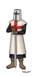 Cavaleiro Templario by Renves
