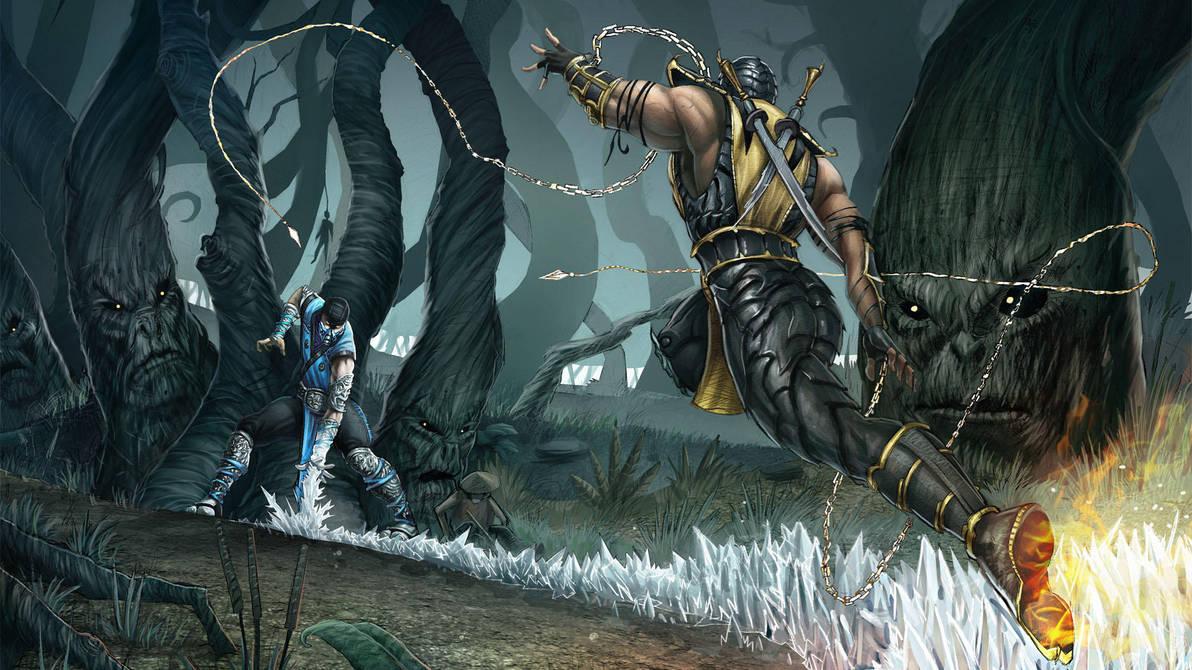 Mortal Kombat Tribute by xavor85