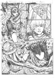 Guardians of the Galaxy sample page#3 pencils by xavor85