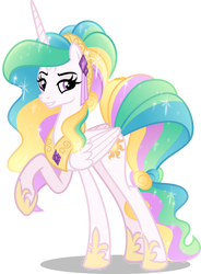 Crystal Princess Celestia (no crystal) by Orin331