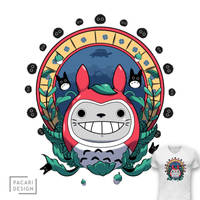 My Daruma Totoro by Pacari-Design