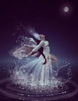 Swan girl by jasminira